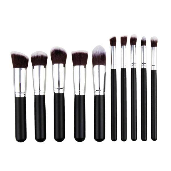 Zo 235 Ayla 10 Piece Kabuki Professional Makeup Brush Set