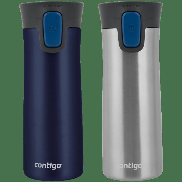 2-Pack: Contigo 14oz Pinnacle Autoseal Travel Mugs