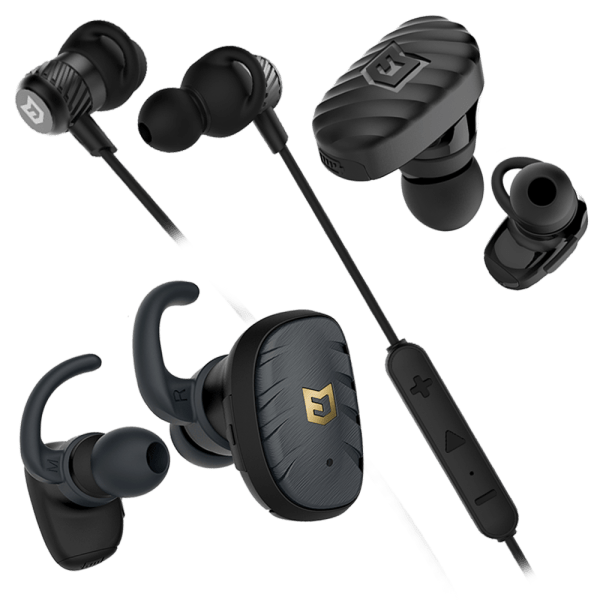 ELWN Endure, Flight & FIT Bluetooth Earbuds