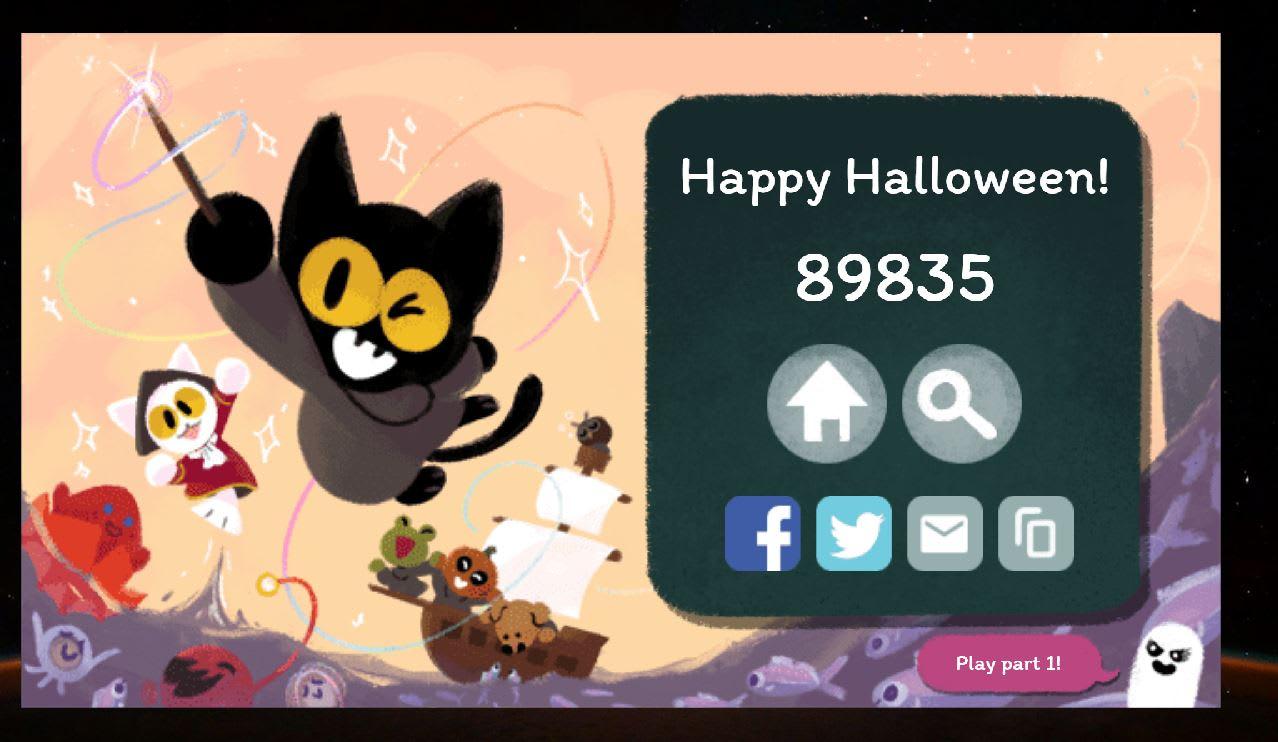 google doodle halloween game google doodle halloween game