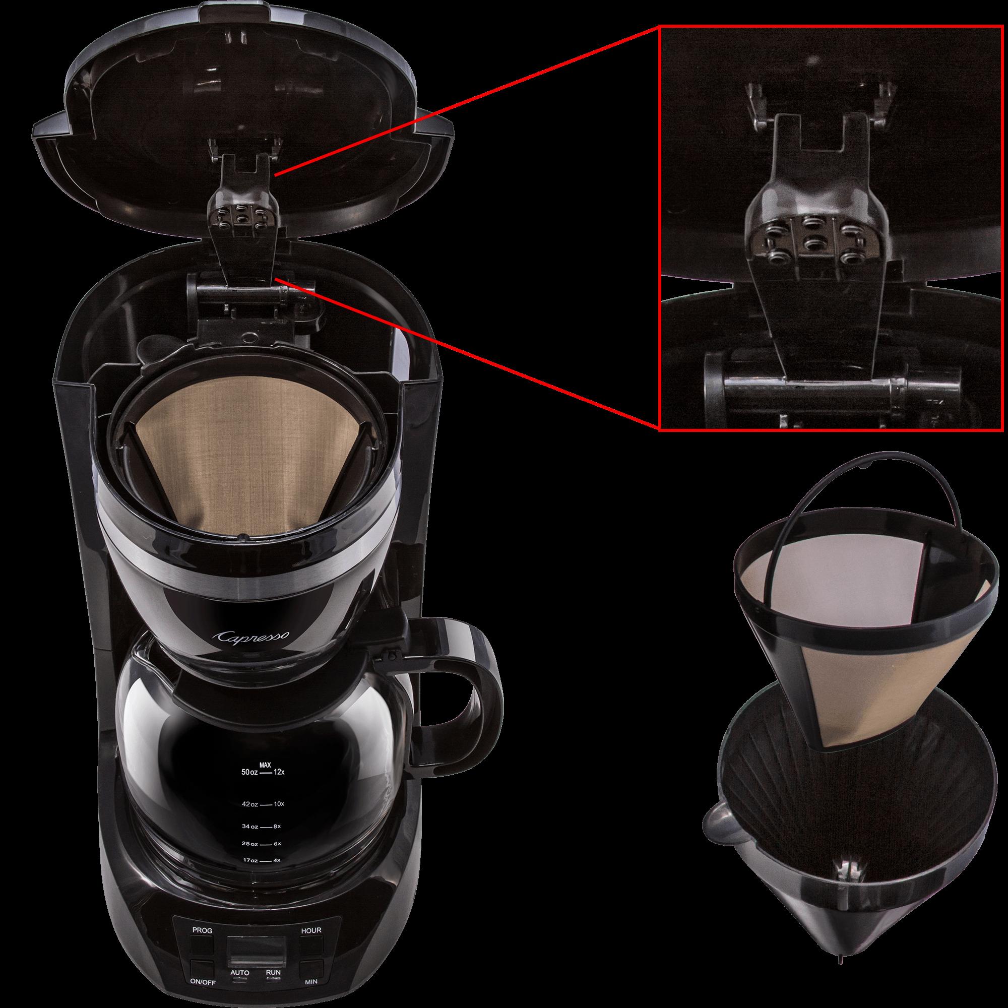 Capresso 12-Cup Coffee Maker