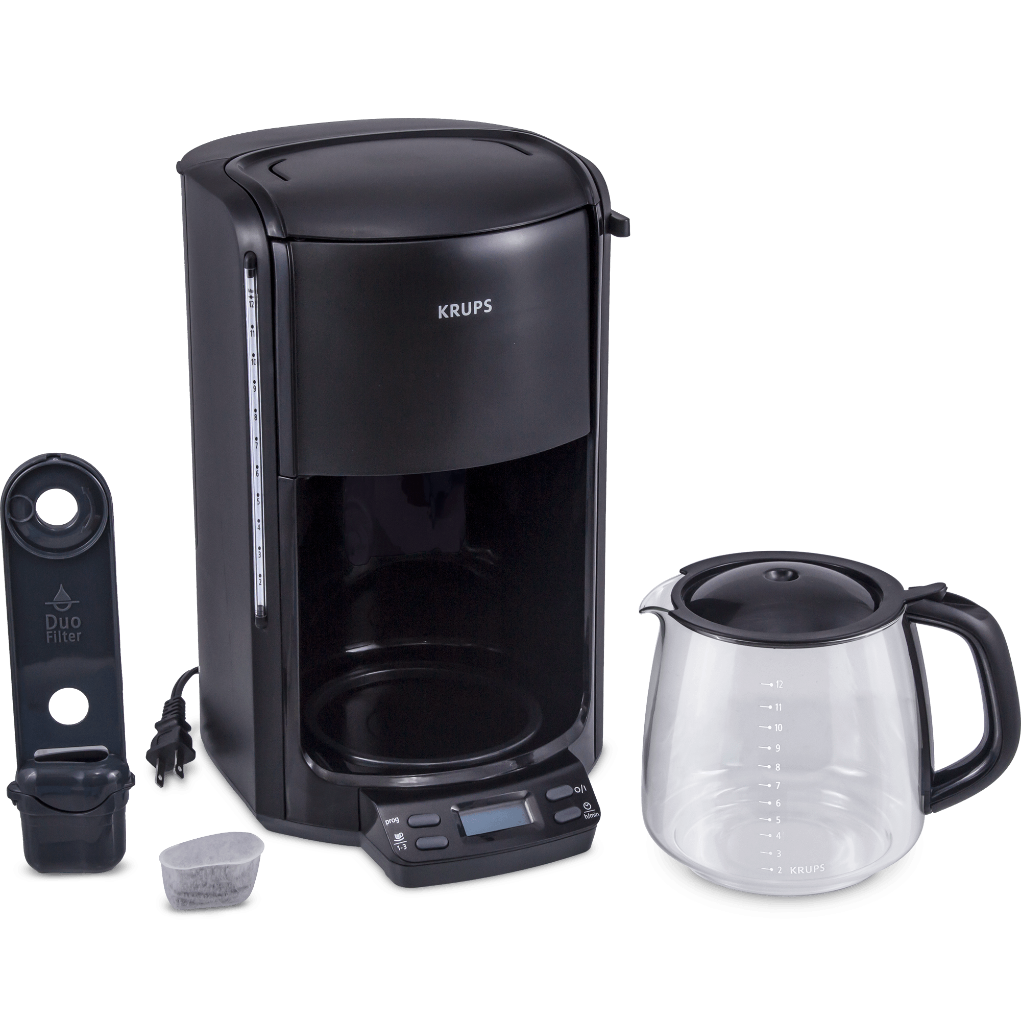 Krups Coffee Maker Km1000 Manual : KRUPS Programmable Coffee Maker (Refurbished)