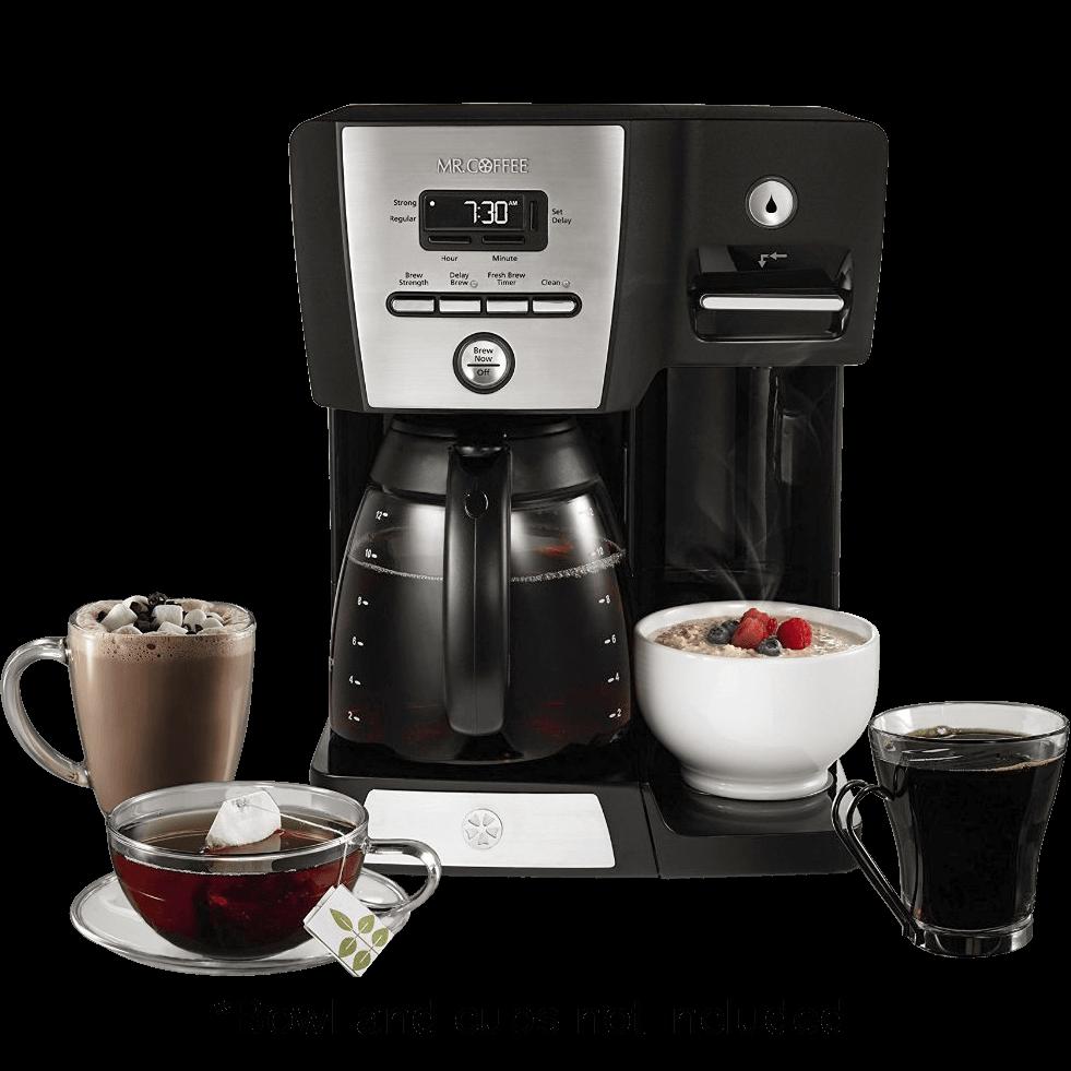 Old Mr Coffee Maker : Mr. Coffee Versatile Brew Coffee Maker and Hot Water Dispenser (Refurbished)
