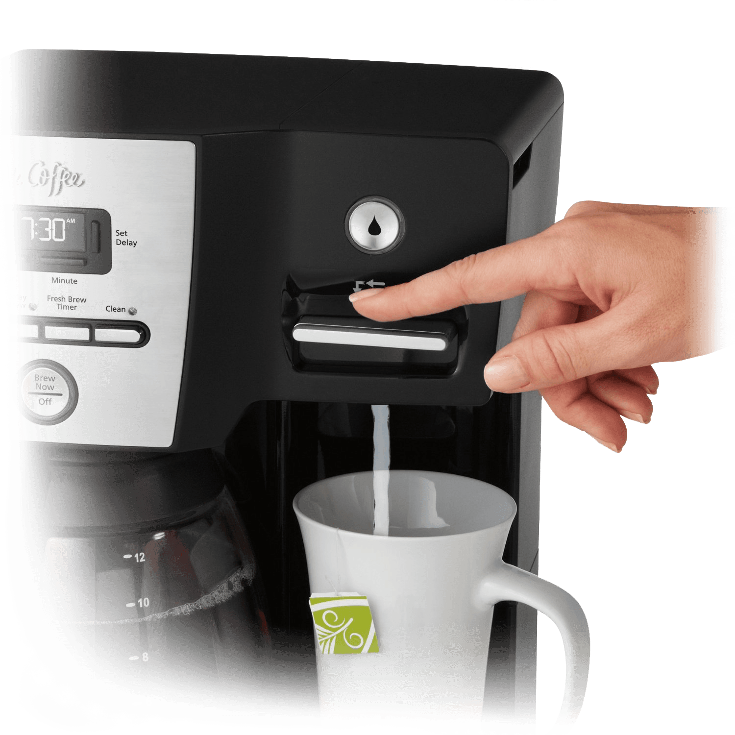 Mr. Coffee Versatile Brew Coffee Maker and Hot Water Dispenser (Refurbished)
