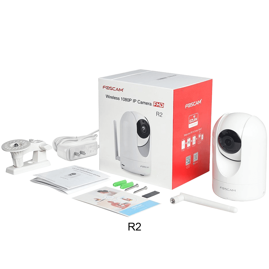 Foscam R2 or C2 1080P WiFi Camera (Refurbished)