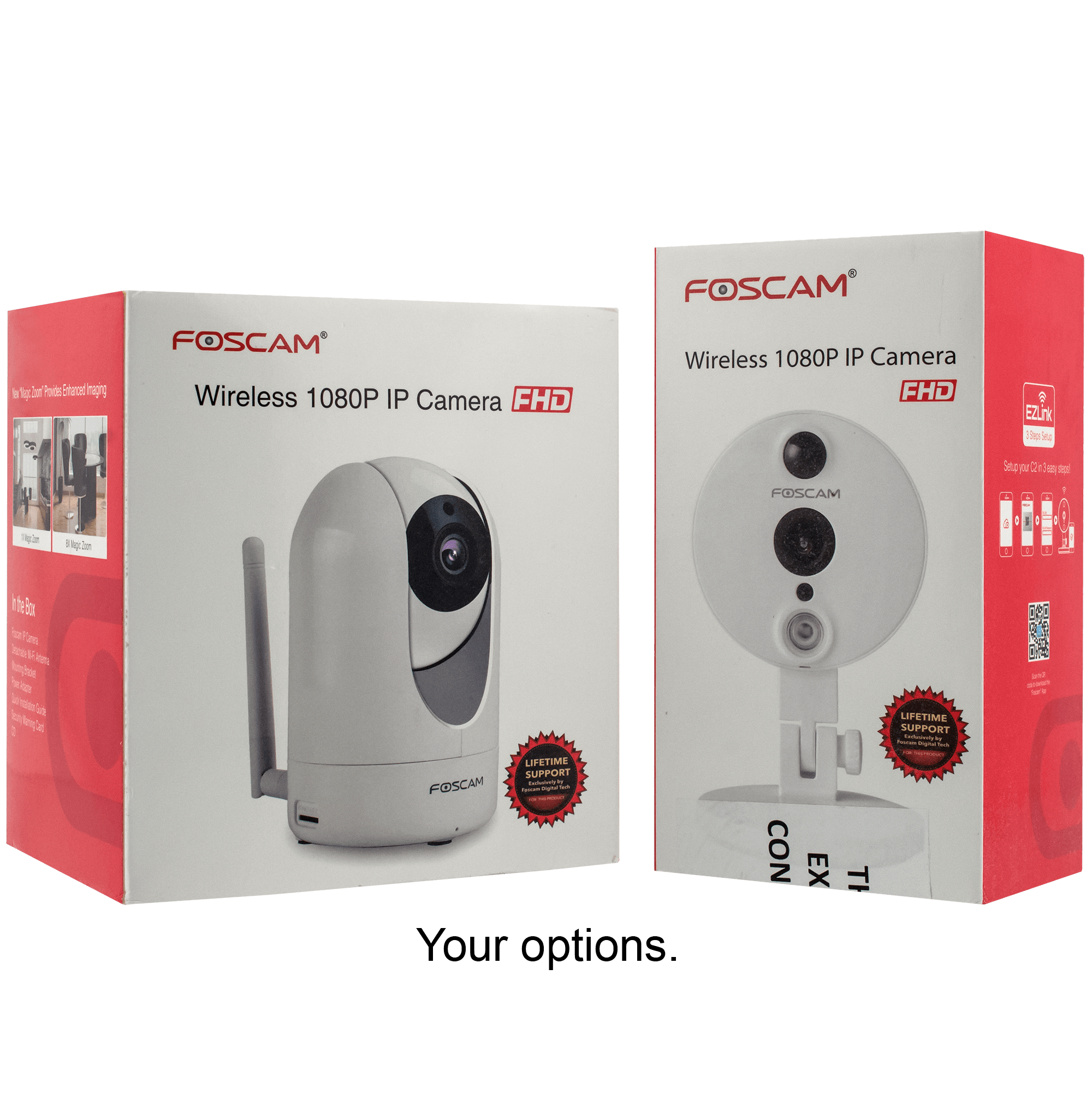 Foscam R2 or C2 1080P WiFi Camera (Refurbished)