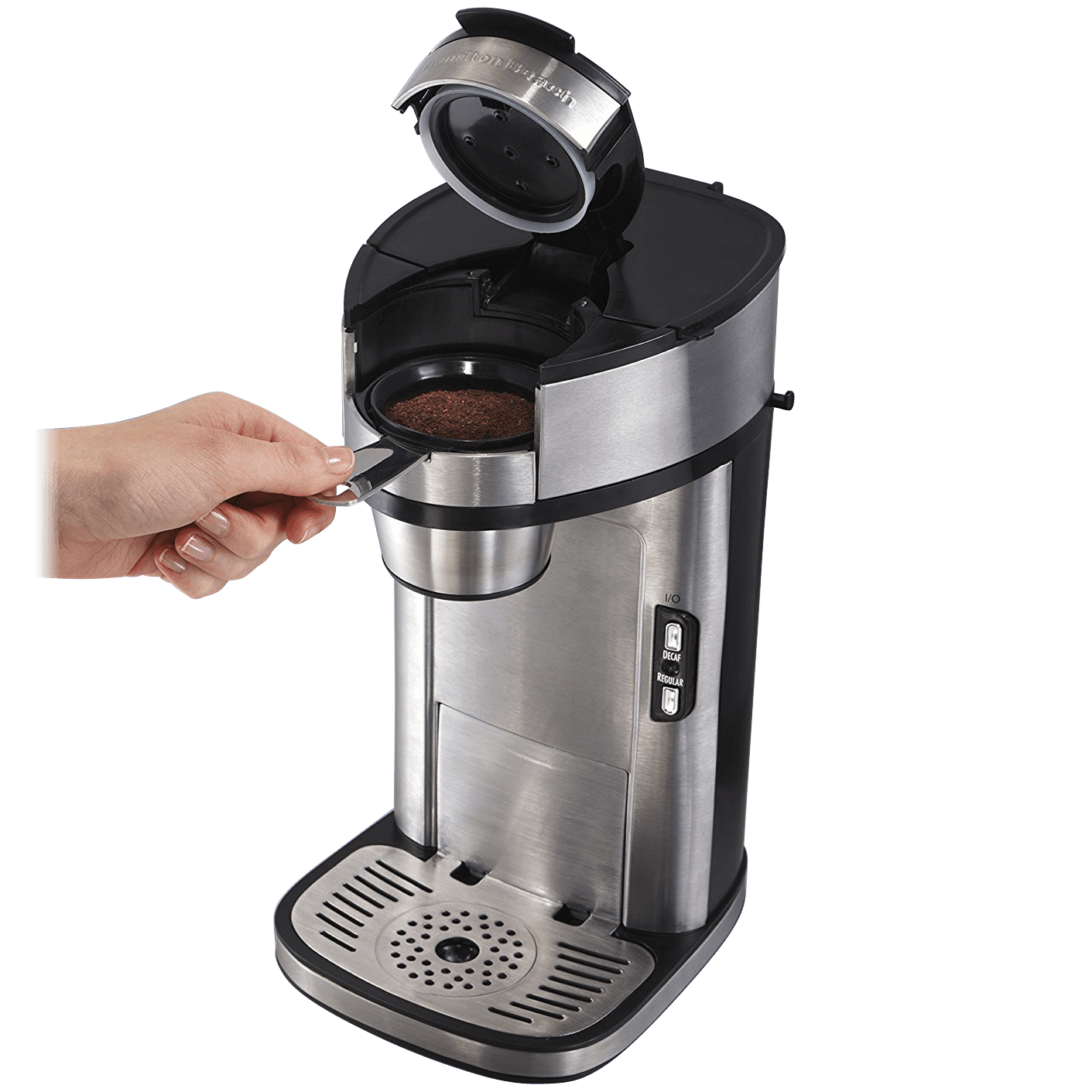 Hamilton Beach Single-Serve Coffee Maker (Refurbished)