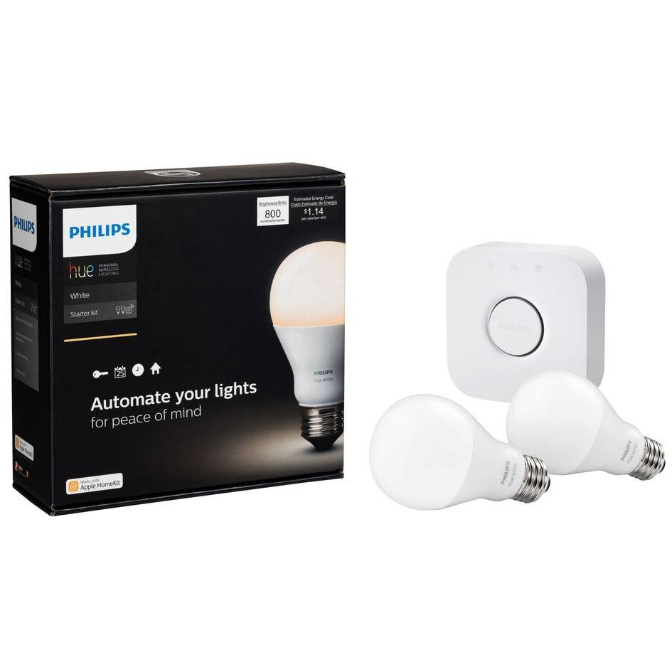 philips hue starter kit 2nd generation refurbished. Black Bedroom Furniture Sets. Home Design Ideas