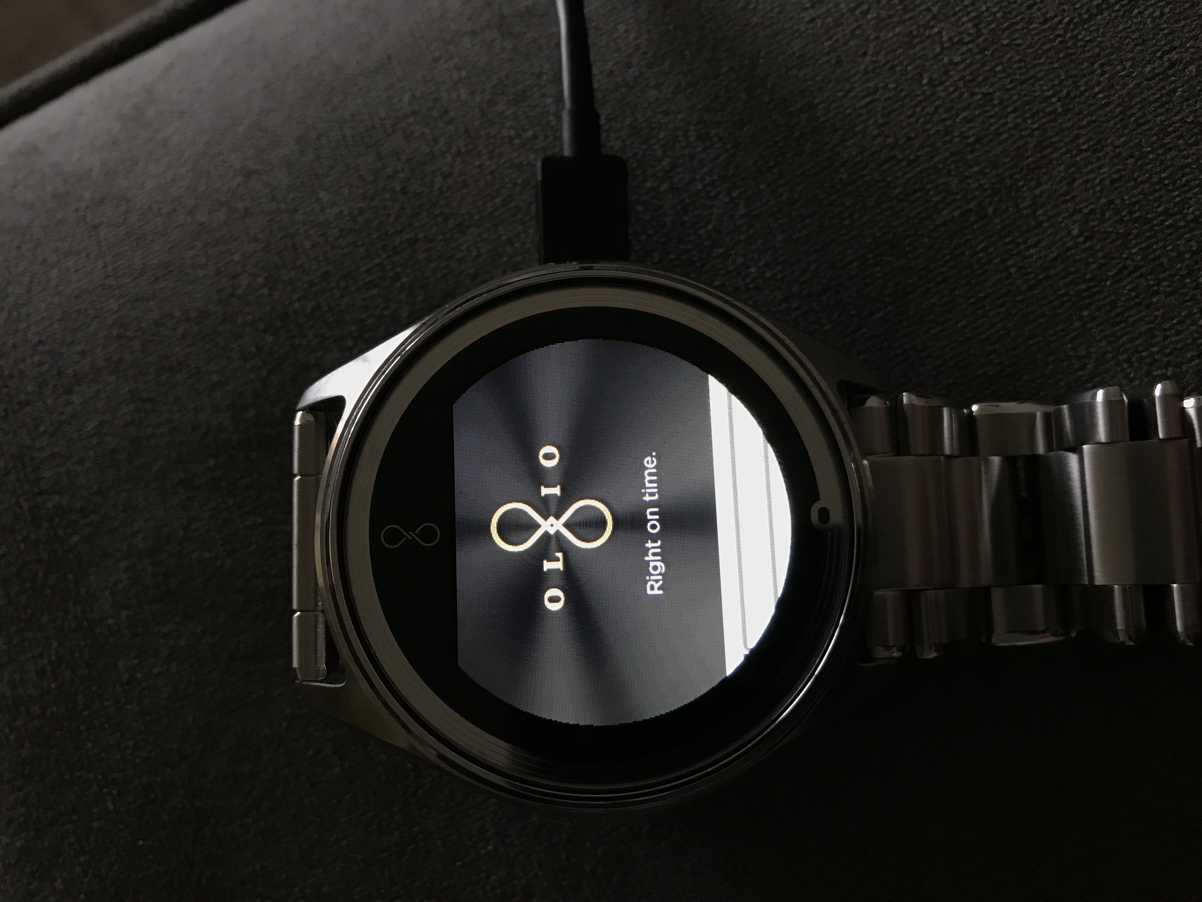 Olio Model One Smartwatch The Pebble Smart Watch Will Include A Flexible Circuit Board Any Advice Enter Image Description Here