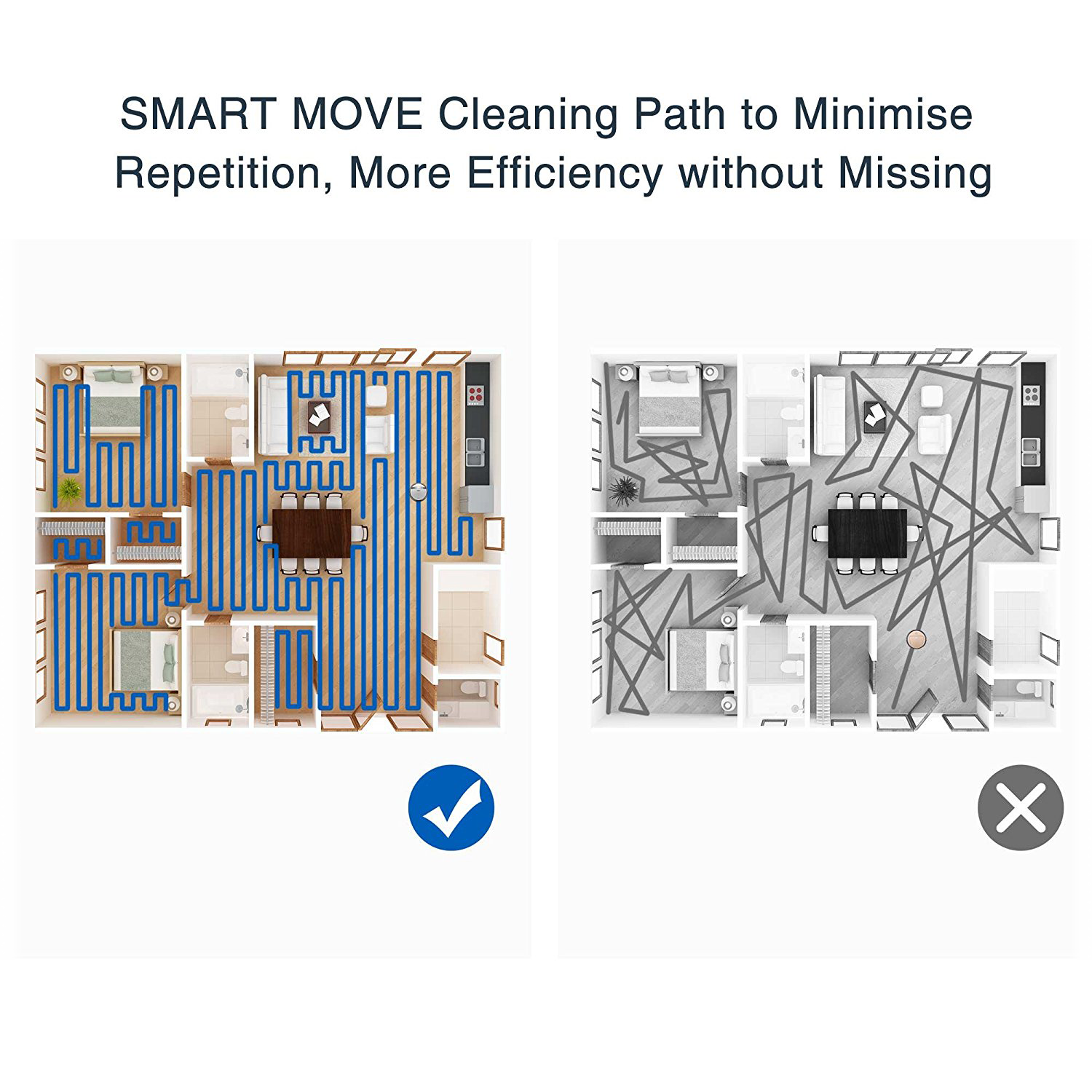 Deebot Ecovac M87 Robotic Vacuum & Mopping System with Alexa