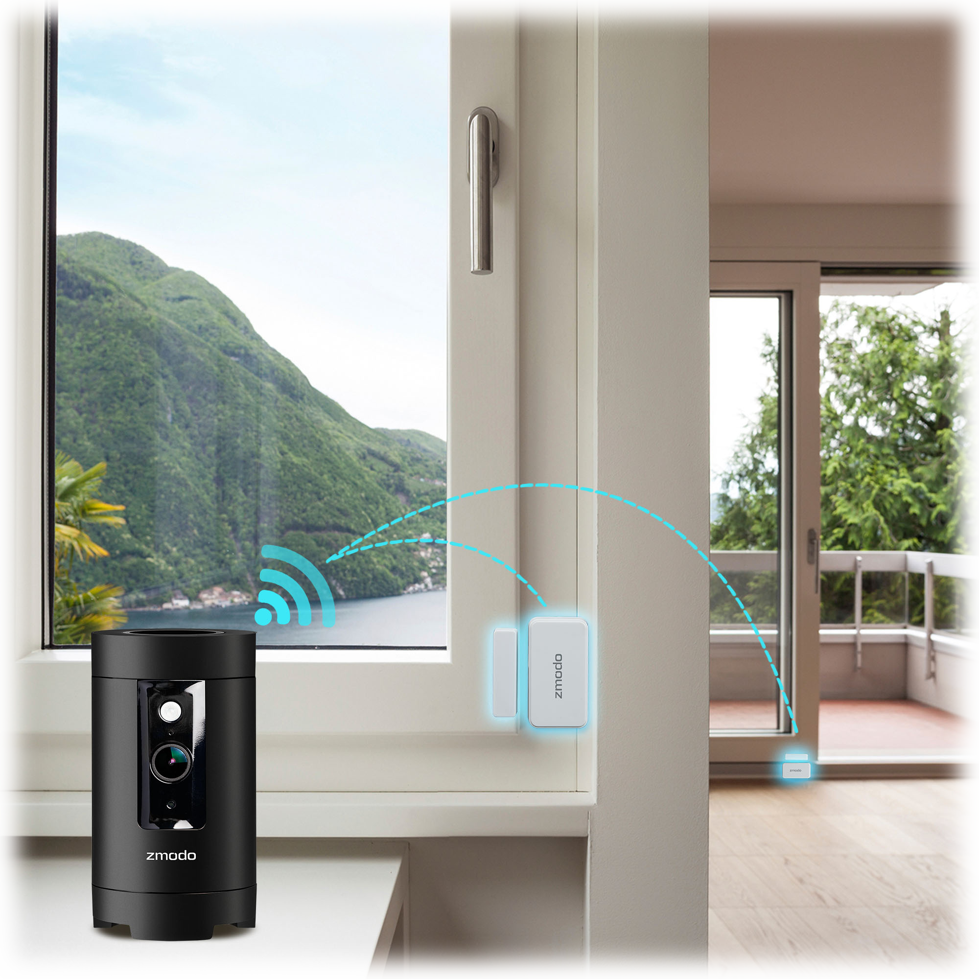 Zmodo Pivot 1080p 360° WiFi Camera With Smarthub And