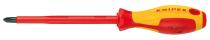 Отвертка крестовая KNIPEX PH1 VDE 1000V