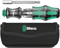 Отвёртка с битами в наборе WERA Kraftform Kompakt с сумкой, 7 предметов
