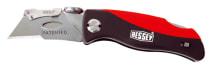 Складной нож с пластмассовой рукояткой BESSEY