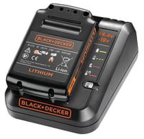 Аккумулятор (18 В, 1.5 А·ч, Li-Ion) + быстрое зарядное устройство BLACK+DECKER BDC1A15-QW