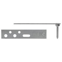 Монтажная пластина Blaugelb Protect 150/90 мм (5 шт - комплект)