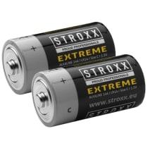 Алкалиновые (щелочные) батарейки C / LR14 / 14A, 2 шт. в блистере, STROXX