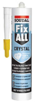 Клей-герметик Soudal Fix All Crystal 290 мл. прозрачный