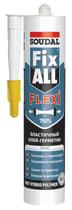 Гибридный клей-герметик Soudal Fix All Flexi 290 мл. белый