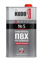 Очиститель KUDO для ПВХ №5 сильнорастворяющий 1000мл