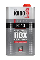Очиститель KUDO для ПВХ №10 слаборастворяющий 1000 мл