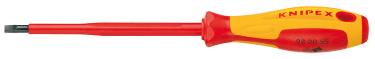 Отвертка KNIPEX KN-982025 шлицевая, диэлектрическая