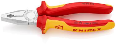 Плоскогубцы комбинированные VDE 1000V KNIPEX KN-0306180