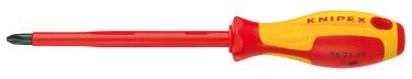Отвертка крестовая KNIPEX KN-982402 PH2 VDE 1000V