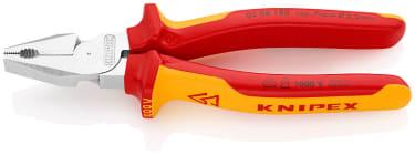 Плоскогубцы комбинированные особой мощности KNIPEX KN-0206180