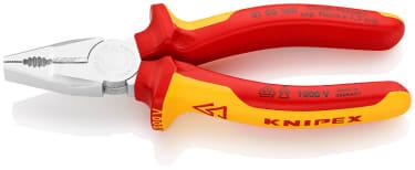 Плоскогубцы комбинированные KNIPEX KN-0106160