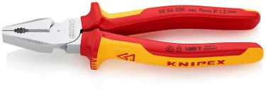 Плоскогубцы комбинированные KNIPEX KN-0206200