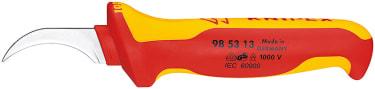 Нож для удаления изоляции секторного кабеля VDE KNIPEX KN-985313