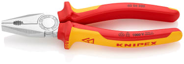 Плоскогубцы комбинированные KNIPEX KN-0306200