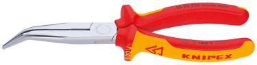 Длинногубцы с режущими кромками KNIPEX KN-2626200