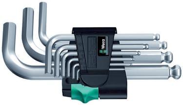 Шестигранные ключи в наборе Wera 950 PKS/9 SM N, 9 предметов