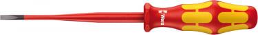 Изолированная отвертка для винтов со шлицем WERA 0.6 x 3.5 x 100 мм