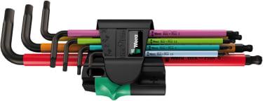 950 SPKL/7B SM Multicolour Magnet Набор Г-образных ключей, метрических, BlackLaser, 7 предметов