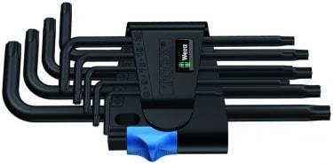 967 L/9 TORX® HF Набор Г-образных ключей с фиксирующей функцией, BlackLaser, 9 предметов