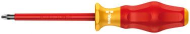 Крестовая отвертка  WERA 1162 i PH VDE, изолированная, PH 1x150 мм
