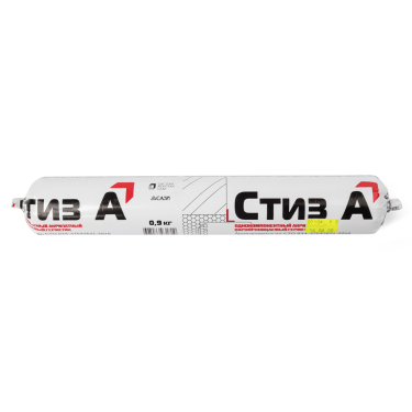 Герметик СТИЗ А марка 6, однокомпонентный акрилатный, 0,9кг