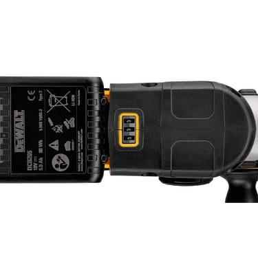 Беcщеточный перфоратор DEWALT SDS-plus 18 В, 26 мм, 400 Вт, 2,1 Дж, 5 Ач - photo 3