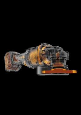 Угловая шлифовальная машина DEWALT, 125 мм, 54 В - photo 2