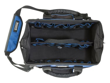 Сумка-органайзер для инструмента STROXX, на молнии, 39 карманов, чёрно-синяя, 450x210x350 мм - photo 2