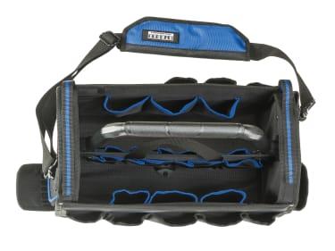 Stroxx Сумка-органайзер для инструмента, 19 карманов, с прочной ручкой, чёрная, 410x210x330 мм - photo 2