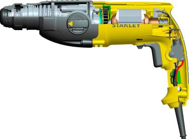 Перфоратор SDS-PlusSHR263K-RU Stanley, 800 Вт, 3.4 Дж - photo 2