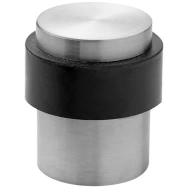 Ограничитель дверной напольный 25 х 38 мм нержавеющая сталь Stroxx