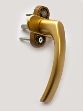 Ручка оконная металлическая BLAUGELB F3 (золото) штифт 37мм - photo 5