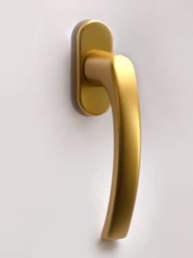 Ручка оконная металлическая BLAUGELB F3 (золото) штифт 37мм - photo 8