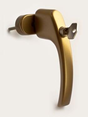 Ручка оконная с ключом BLAUGELB 1758 F4 (бронза), длина штифта 37мм - photo 6