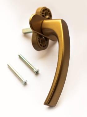 Ручка оконная металлическая BLAUGELB F4 (бронза) штифт 37мм - photo 2
